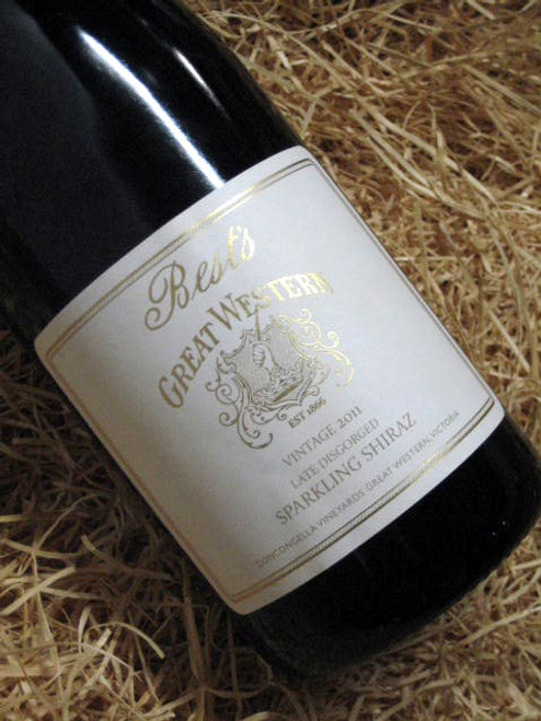Best's Great Western Late Disgorged Sparkling Shiraz 2011
