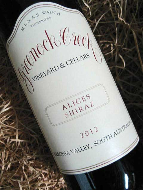 Greenock Creek Alices Shiraz 2012