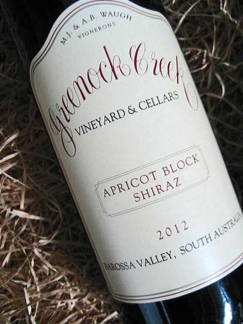 [SOLD-OUT] Greenock Creek Apricot Block Shiraz 2012