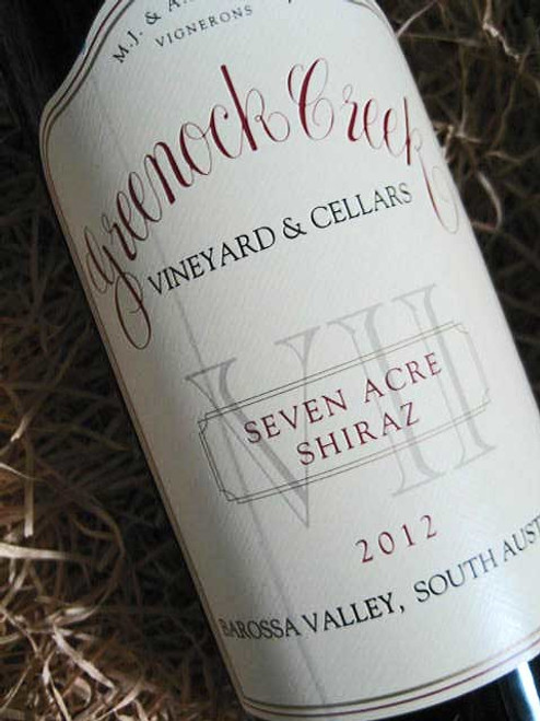 Greenock Creek Seven Acre Shiraz 2012