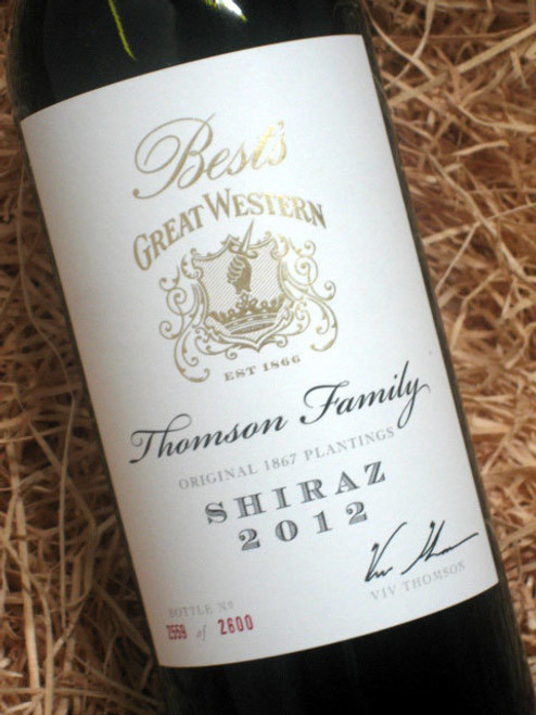 Best's Thomson Family Shiraz 2012