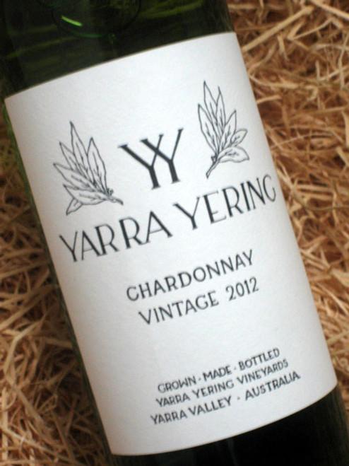 Yarra Yering Chardonnay 2012