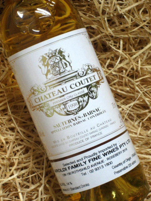 Chateau Coutet Barsac 1998 375mL