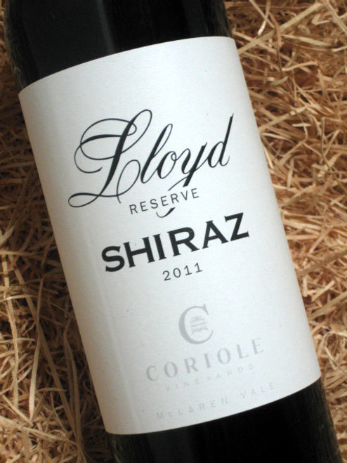 [SOLD-OUT] Coriole Lloyd Reserve Shiraz 2011