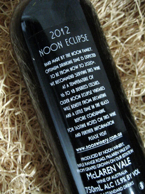 [SOLD-OUT] Noon Winery Eclipse Grenache Shiraz 2012