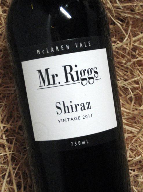 [SOLD-OUT] Mr Riggs Shiraz 2011