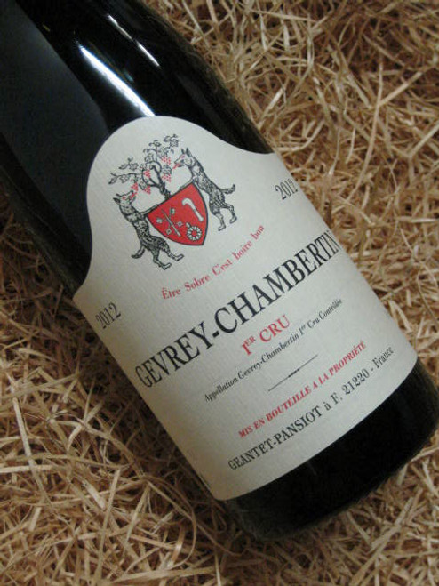 [SOLD-OUT] Dom Geantet Pansiot Gevrey-Chambertin Premier Cru 2012