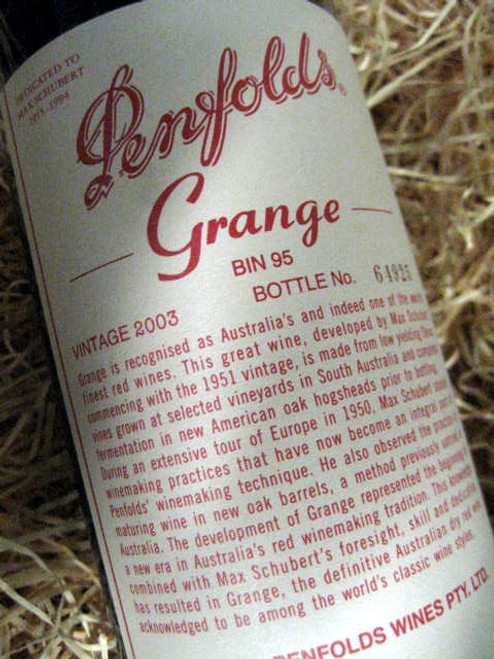[SOLD-OUT] Penfolds Grange 2003