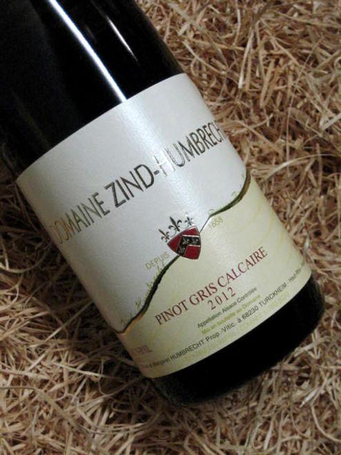 Domaine Zind Humbrecht Pinot Gris Calcaire 2012