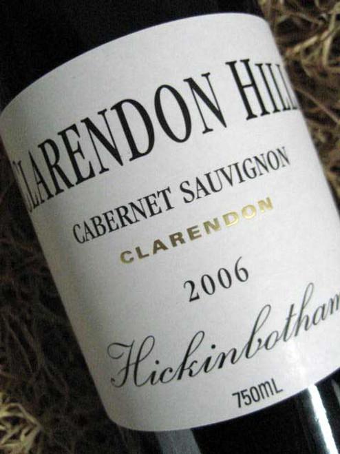 Clarendon Hills Hickinbotham Cabernet Sauvignon 2006