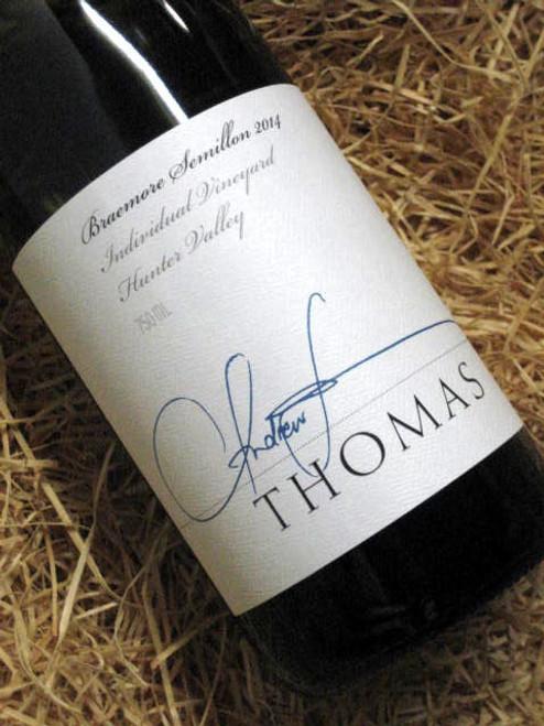 Thomas Braemore Semillon 2014