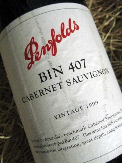 Penfolds Bin 407 1999