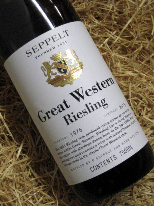 Seppelt Great Western Riesling 2013