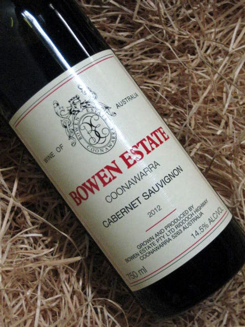 Bowen Estate Cabernet Sauvignon 2012