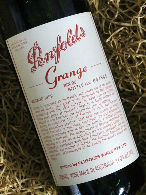 [SOLD-OUT] Penfolds Grange 1999