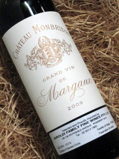 [SOLD-OUT] Chateau Monbrison Margaux 2009