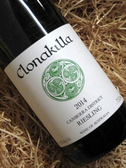 [SOLD-OUT] Clonakilla Riesling 2014