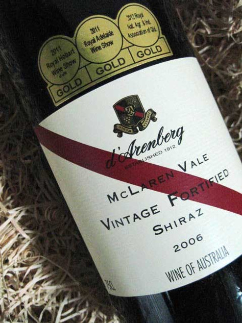 [SOLD-OUT] d'Arenberg Vintage Fortified Shiraz 2006