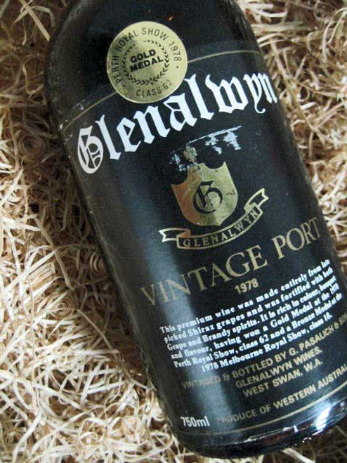 Glenalwyn Vintage Port 1978