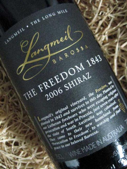 Langmeil Freedom Shiraz 2006 '1843'