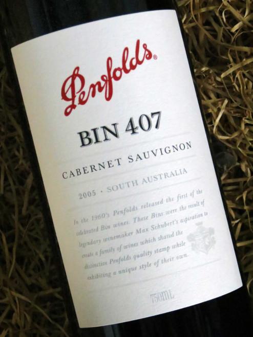 [SOLD-OUT] Penfolds Bin 407 2005