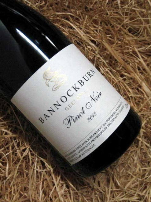 Bannockburn Pinot Noir 2012