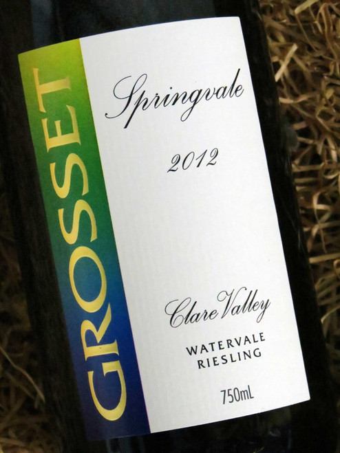 [SOLD-OUT] Grosset Springvale Riesling Watervale 2012