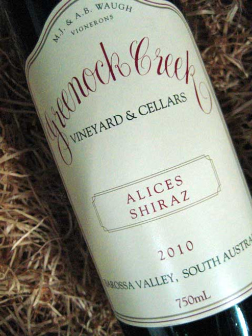 Greenock Creek Alices Shiraz 2010
