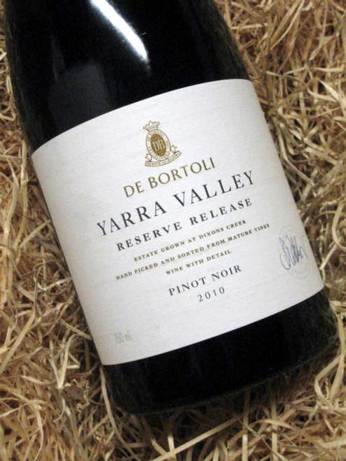 De Bortoli Yarra Reserve Pinot Noir 2010
