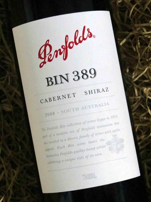 [SOLD-OUT] Penfolds Bin 389 2008