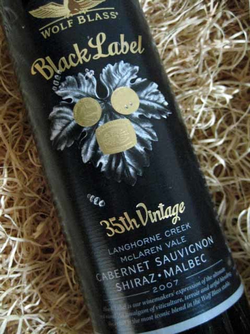 [SOLD-OUT] Wolf Blass Black Label 2007