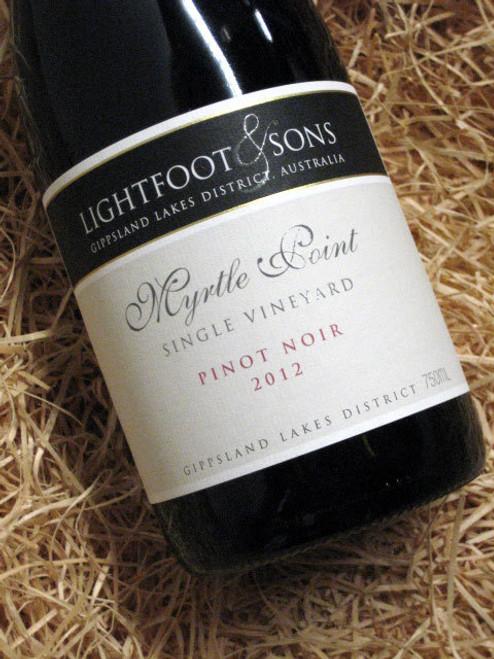 Lightfoot & Sons Pinot Noir 2012