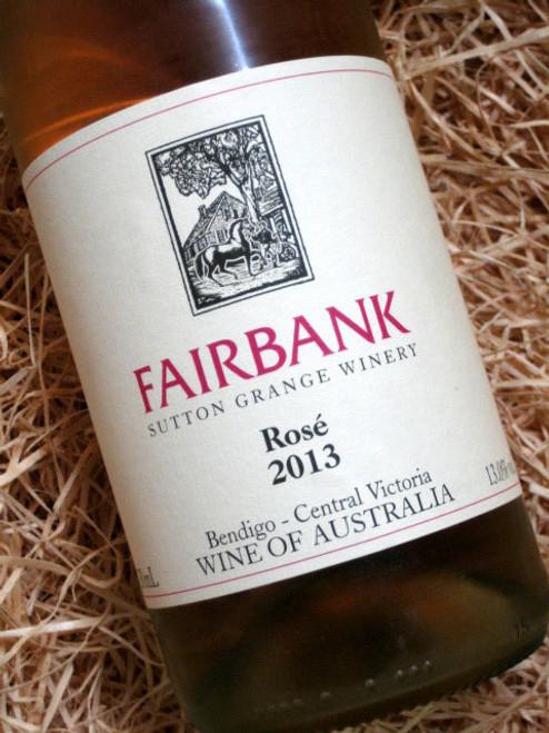 Fairbank Rose 2013