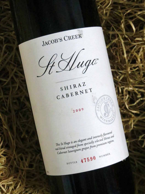 [SOLD-OUT] Orlando Jacobs Creek St Hugo Shiraz Cabernet 2009