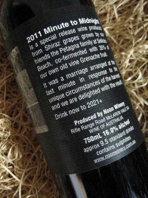 Noon Winery Minute to Midnight Shiraz Grenache 2011