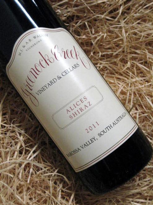 Greenock Creek Alices Shiraz 2011