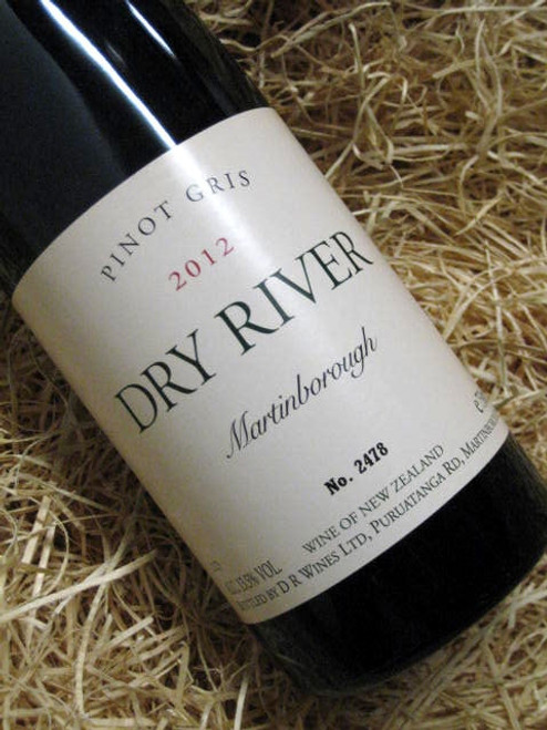 Dry River Pinot Gris 2012
