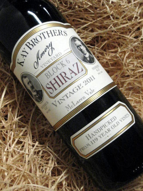 [SOLD-OUT] Kay Brothers Block 6 Shiraz 2011