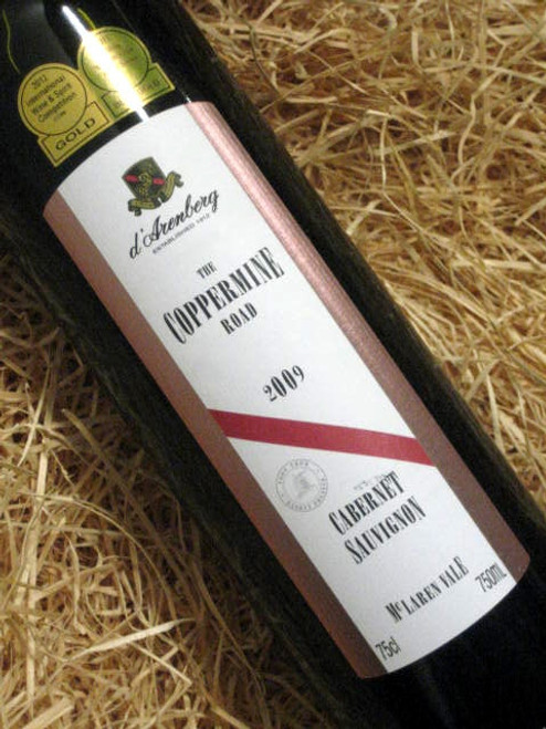 [SOLD-OUT] d'Arenberg Coppermine Road Cabernet Sauvignon 2009