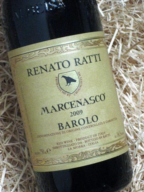 Renato Ratti Barolo Marcenasco 2009