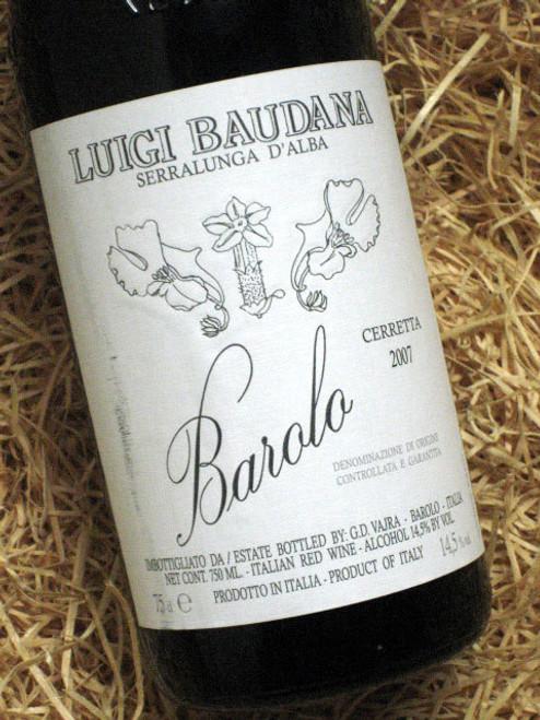 Luigi Baudana Barolo Ceretta 2007