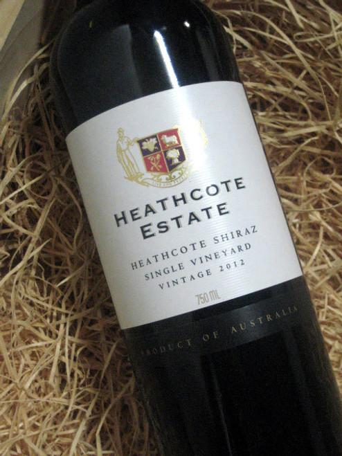 Heathcote Estate Shiraz 2012
