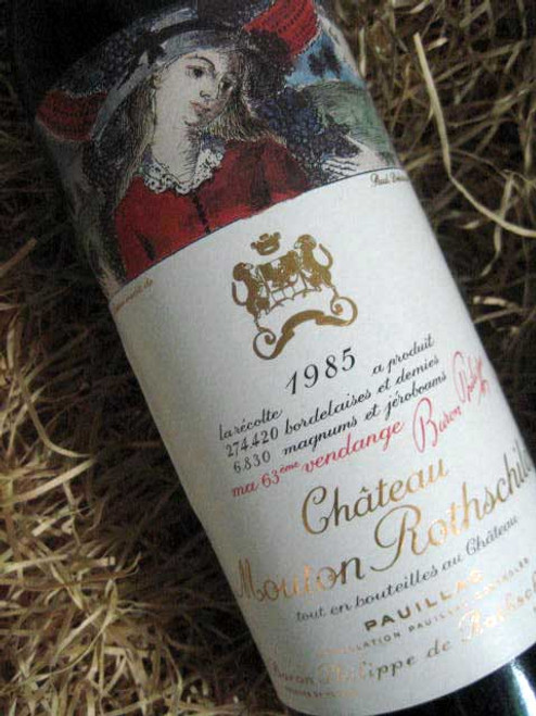 Chateau Mouton Rothschild 1985 (Base of Neck Level)