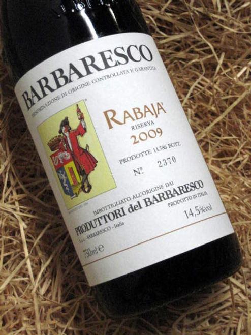 Produttori del Barbaresco Rabaja' Riserva 2009
