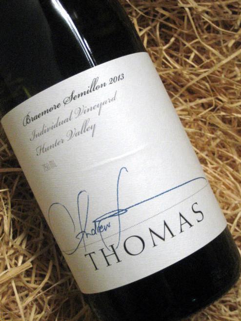 Thomas Braemore Semillon 2013