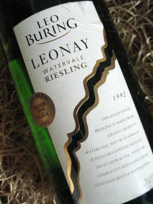 Leo Buring Leonay Riesling 1992