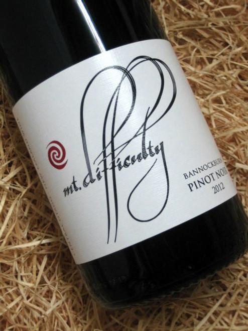 Mount Difficulty Pinot Noir 2012