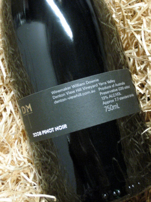 Denton View Hill Pinot Noir 2008