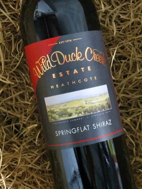 [SOLD-OUT] Wild Duck Creek Springflat Shiraz 2013
