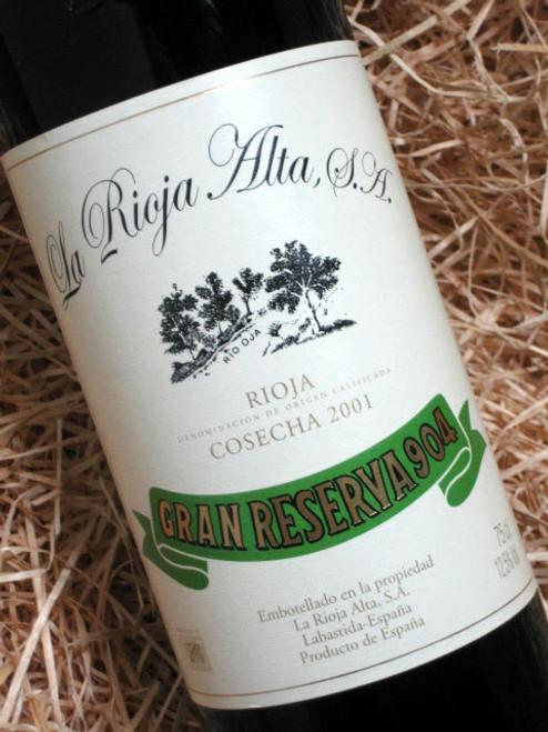 La Rioja Alta Gran Reserva '904' 2001
